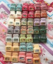 X6 YANKEE CANDLE Jar Shape Wax Tart Melts, See Description  Rare Retired