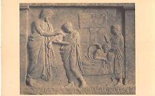 BR70833 musee athens amphiaraos guerissant un malade postcard greece sculpture