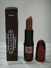 Mac Cosmetics Aaliyah Haughton Collection Lipstick -  TRY AGAIN  New With Box
