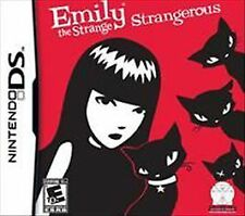 Emily the Strange: Strangerous (Nintendo DS, 2011) Cartridge only
