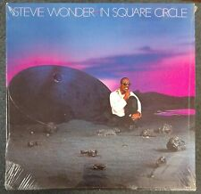 Stevie Wonder In Square Circle 1985 SEALED USA GATEFOLD LP EMBOSSED COVER