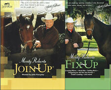 Montry Roberts Join-Up & Fix-Up Combo with Monty Roberts DVD New!