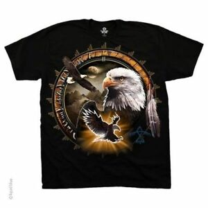 Southwestern Design Eagle Dreamcatcher T-Shirt