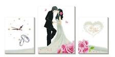 "NEW Cross Stitch Kits""wedding 3pieces cloth""11CT"