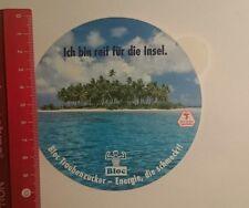 Aufkleber/Sticker: Bloc Traubenzucker ich bin reif für die Insel (071116147)