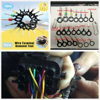 21 Pcs Car Terminal Removal Wiring Crimp Connector Pin Extractor Repair Tool Kit