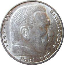 5 Reichsmark Hindenburg 1935 Günstig Kaufen Ebay