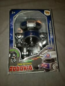 New Remote Control Rc Robokid Programmable Disc Shooting Robot Toy Gift