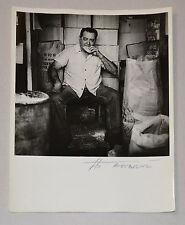 "TITO ALVAREZ B&W Photograph.Signed""Bodeguero""Original Cuban Fine art.Arte Cubano"