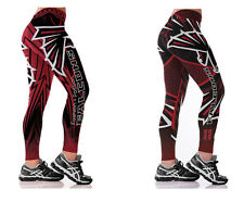 New Atlanta Falcons NFL Women Fans Apparel Sports Uniform Pants Fitness Leggings