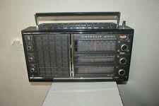 GRUNDIG SATELLIT 2100  FONCTIONNE RADIO  WORLD RECEPTEUR VINTAGE