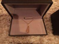 GUCCI Diamantissima Necklace 750 18K Gold Used Ex++