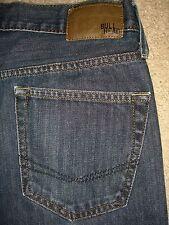 BULLHEAD Gravels Slim Med Dark Denim Jeans Mens Size 28