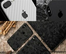 iphone 11 12 Pro Max X Xs Max 7 Skin Wrap Folie Rückseite Xr 3M Aufkleber Schutz