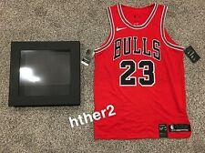 *IN HAND* Michael Jordan Nike AUTHENTIC Chicago Bulls Icon Jersey NWT W/ Box