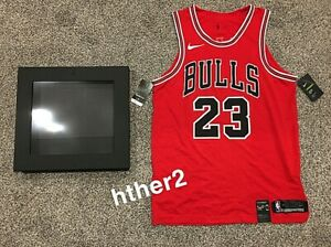 *IN HAND* Michael Jordan Nike AUTHENTIC Chicago Bulls Icon Jersey NWT W/ Box