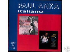 Paul Anka-ITALIANO Great CD! 28 chansons en Italian