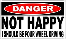 4X4 FOUR WHEEL  DRIVING DANGER SIGN - Perfect for Bar Gift Pool Room Man Cave