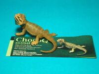 RARE Kaiyodo Choco Q Egg Breaded Dragon Lizard Animal PVC Figure Figurine