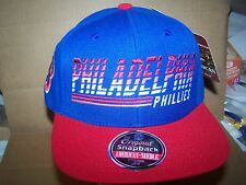 Philadelphia Phillies CAP/HAT  SNAPBACK AMERICAN NEEDLE  RED-BLUE  MLB