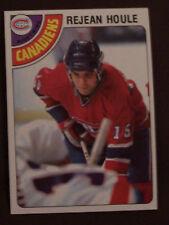 1978-79 Topps Hockey REJEAN HOULE MONTREAL CANADIENS  LOT OF 2 NM-MT+
