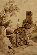 501043 Campagna Landscape Claude Gellee A4 Photo Print