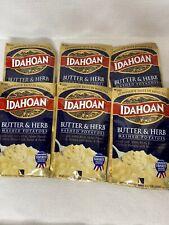 Lot 6 Packs Idahoan Butter & Herb Mashed Potatoes - 4 oz Each