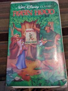 Robin Hood (VHS, 1991)Walt Disney Masterpiece Collection
