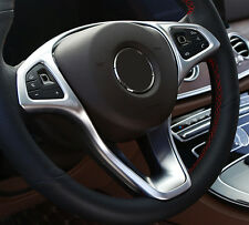For 2014-2017 Mercedes-Benz C-Class&B-Class W205  Steering Wheel Decor Trim