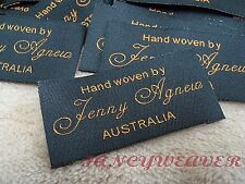 200pcs Custom Professional Woven labels for Fashion, Clothing, Handmade items