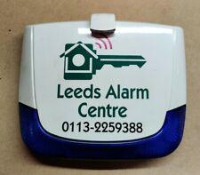 Risco Twin Piezo Lumin8 Burglar Alarm Bell Box External Sounder - USED