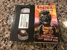 Godzilla Vs Megalon VHS! Underwater Nuclear Testing Adventure!
