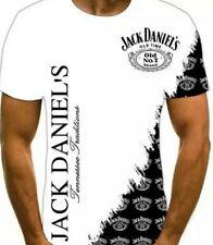 Jack Daniels -  T Shirt 4XL 52 Inches - White