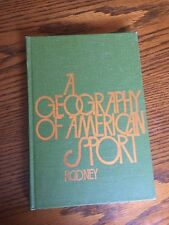 A Geography of American Sport but Rooney 1974, hardcover book