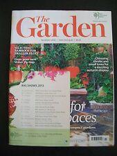The Royal Horticultural Society. The Garden Magazine. November, 2012. VGC.