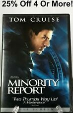Minority Report (Dvd, 2002, 2-Disc Set, Full Frame)~25% Off 4 Or More!