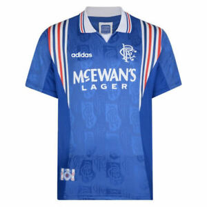 1996/97 Rangers Home Football Shirt Adults Retro Soccer Jersey GASCOIGNE #8