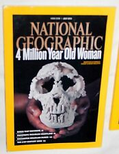 National Geographic JULY 2010 NEW 4 Million Year Old Woman, 21st Centery Grid