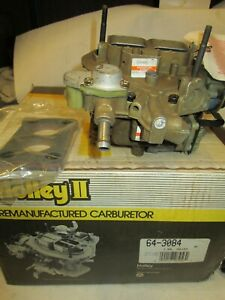 Holley Reman 64-3084 Carburetor Motorcraft 2 Bbl. Ford / Merc Car 4 Cyl. 1977-81