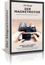 Magnetmotor selber bauen - Freie Energie Bauanleitung Generator Perpetuum Mobile
