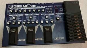 Boss ME-50B Bass Multi Effects Pedal Board