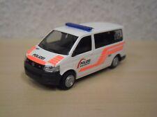 "Rietze - VW T5 Bus ""Polizei Basel-Landschaft / Schweiz"" (CH) - Nr. 51885 - 1:87"