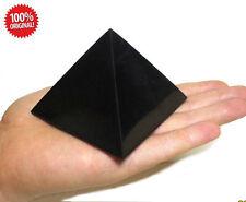 Schungit poliert Pyramide 70x70 mm mineralien Energiepyramide