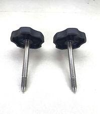 2 ea 1997 to 2006 / Jeep Wrangler TJ / Soft Top Door Surround Knob With Pin(set)