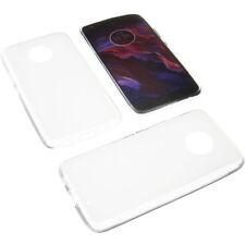 Funda para Motorola Moto x4 protectora de móvil TPU GOMA TRANSPARENTE
