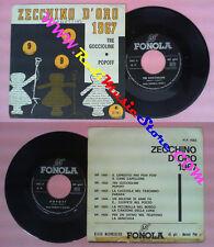 LP 45 7''DANIELA BIROLI Tre goccioline ROBERTO GHERZI Popoff FONOLA no cd mc dvd