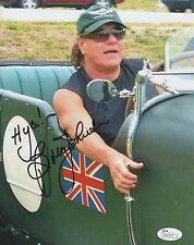 Brian Johnson of AC/DC REAL hand SIGNED 8x10 Photo JSA COA Autographed