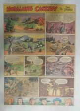 Hopalong Cassidy Sunday Page by Dan Spiegle from 5/4/1952 Size: 11 x 15 inches