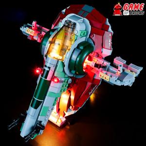 Game of Bricks LED Light Kit for Boba Fett's Starship 75312