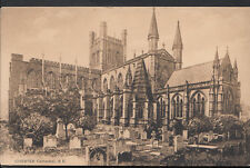Cheshire Postcard - Chester Cathedral, South East View  RS3576